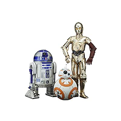 ARTFX+ STAR WARS R2-D2 & C-3PO with BB-8 1/10�������� PVC�� �����Ѥߴʰ���Ω�ե����奢