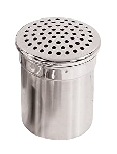 Fox Run 4-Inch Stainless Steel Shaker with Large Holes by Fox Run