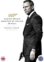 Daniel Craig 007 Triple Pack: Casino Royale / Quantum of Solace / Skyfall [DVD]