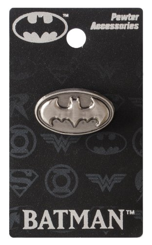 DC Batman Logo Pewter Lapel Pin