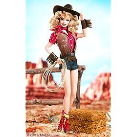 FAO Schwarz Exclusive - Mattel - Platinum Label Pin-Up Girls Way Out West Barbie Doll LE 999