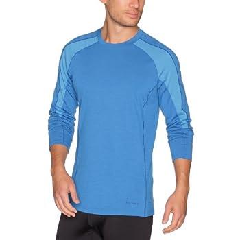 Patagonia M'S Merino 2 LW Crew Sous-vêtement thermique homme Bandana Blue S