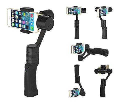 これは便利!!Youtuberは必携/スマートフォンでプロ並みの動画撮影/3軸電子制御の手ブレ防止スタビライザーだから運動会の撮影にも最適/3-Axis Handheld Gimbal Stabilizer for Smartphone -  GC2