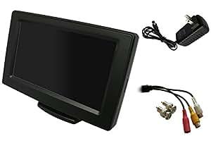 Broadwatch 4.3INCH LCDモニター(車載、防犯使用可能) (AC100V電源付)
