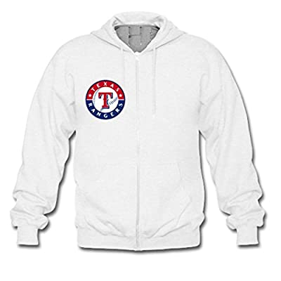 Custom Men Texas Rangers Hoodies Zip Up Jacket