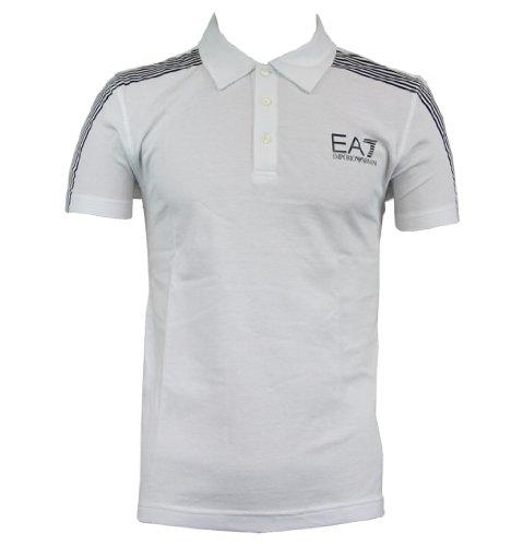 Emporio Armani EA7 273177 2A264 Mens SS Polo Shirt AW12 White XL
