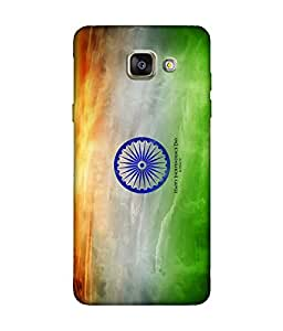 small candy 3D Printed Back Cover For Samsung Galaxy A5 2016 -Multicolor indian flag
