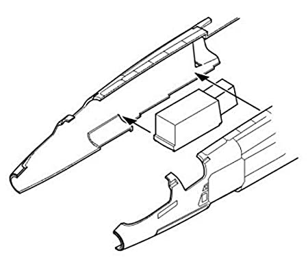 baie de train d'atterrissage avant de BAC TSR-2 (pour les maquettes Airfix)