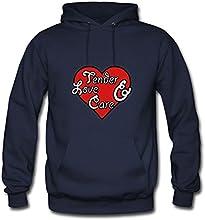 Rosachav Hot Navy Regular Custom-made Women Tender Love Care Sweatshirts