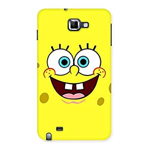 Cute Spong Yellow Back Case Cover for Galaxy Note