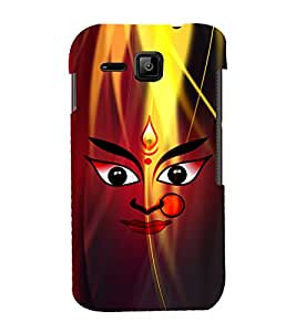 Durge Maa 3D Hard Polycarbonate Designer Back Case Cover for Micromax Bolt S301