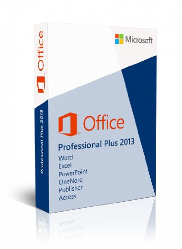 Office Professional Plus 2013 32-Bit Key Card 1Pc/1User