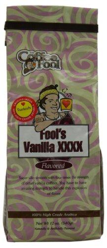 The Coffee Fool Turkish (Powder) Coffee, Fool'S Vanilla Xxxx, 12 Ounce
