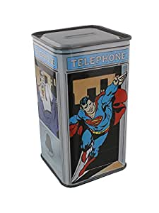 superman phone box quick change money box toys games. Black Bedroom Furniture Sets. Home Design Ideas