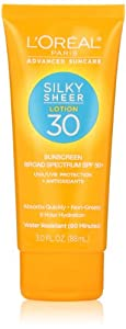 L'Oreal Paris Advanced Suncare SPF 30 Lotion, 3.0 Ounce