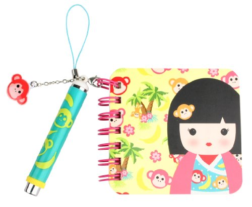 Kids Preferred Kimmidoll Junior Mini Notebook and Pen, Leila