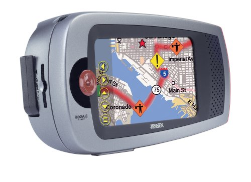 Jensen NVX-1000 4-Inch Portable GPS Navigator