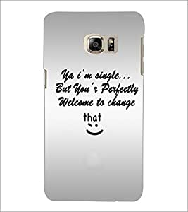 PrintDhaba Quote D-4895 Back Case Cover for SAMSUNG GALAXY NOTE 5 EDGE (Multi-Coloured)