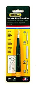 General Tools & Instruments 741 4-In-1 Precision Screwdriver