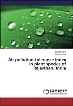 Air pollution tolerance index in plant species of
