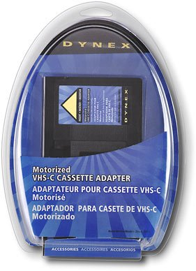 Best Deals! Dynex DX-DA100611 - Video cassette adapter VHS-C to VHS