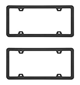 Cruiser Accessories Neo Black License Frame (2 Frames)