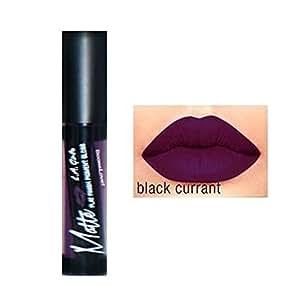 L A Girl Matte Lipgloss, Black Currant, 5g