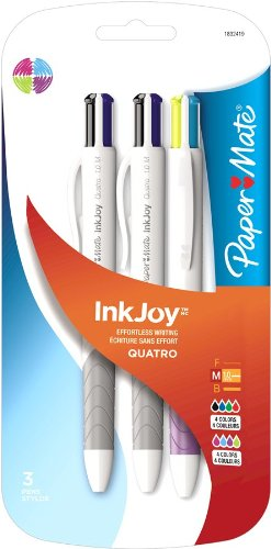 paper-mate-inkjoy-quatro-retractable-medium-point-advanced-pens-assorted-colors