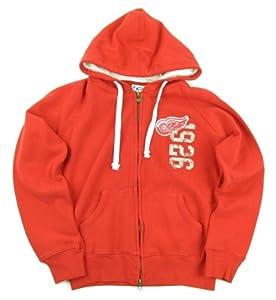 Buy GIII Detroit Red Wings Full Zip Hooded Ladies Jacket by Detroit Red Wings