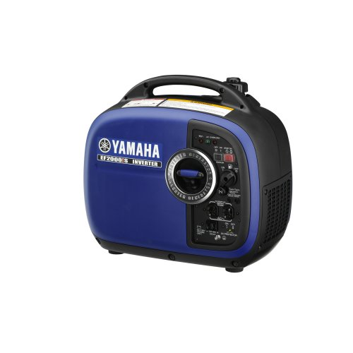 Yamaha ef2000is 2 000 watt 79cc ohv 4 stroke gas powered for Yamaha 2000 generator review