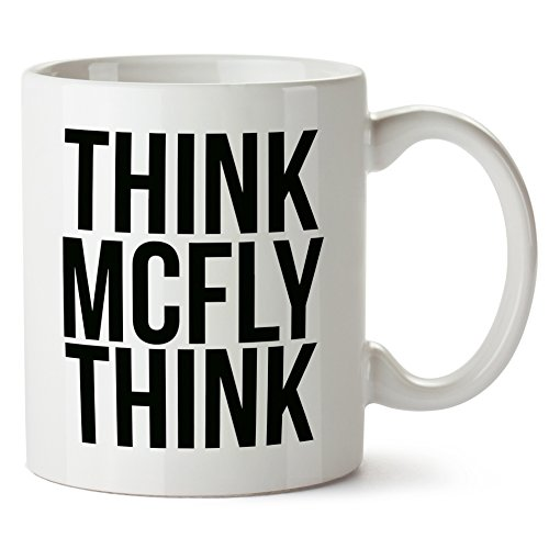 Back To The Future Mug Tazza Think McFly Think