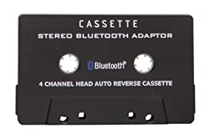 Adapsonic Stereo Bluetooth Cassette Adapter for Music Streaming