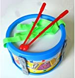 Toy Mini Marching Drum + Sticks and Strap Kids Percussion for children