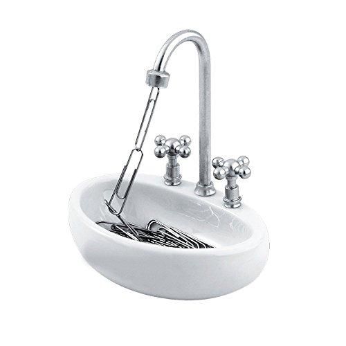 Paper Clip Holder - Kitchen Sink Design by Decodyne (Paper Clip Holder compare prices)