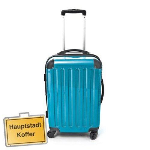 Hartschalen Koffer Blau Hochglanz max.87 L Reisetrolley