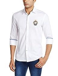 Proline Men's Casual Shirt (8907007298923_PV10620_Medium_White)