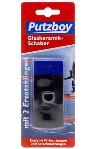 Poliboy Putzboy Glaskeramik Kunststoff Schaber (ALA36)