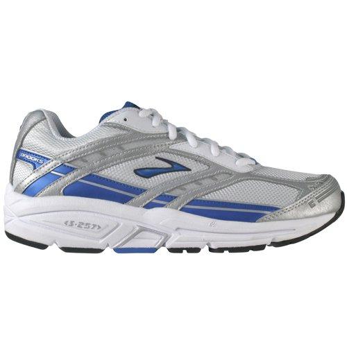 New Brooks Addiction 7 Mens Running Trainers - White - SIZE UK 12