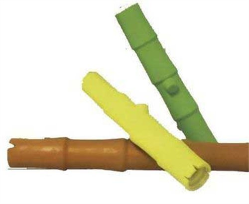 Jw Pet Company Lucky Bamboo Stick Rubber Dog Toy, Large, Colors Vary