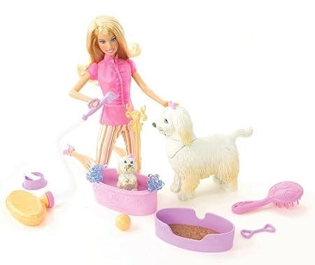 Mattel - N4890 - Poupée - Coffret - Barbie Bain Rigolo