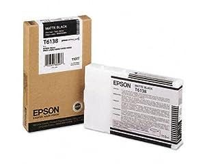 OEM Epson T613800 Matte Black Ink Cartridge