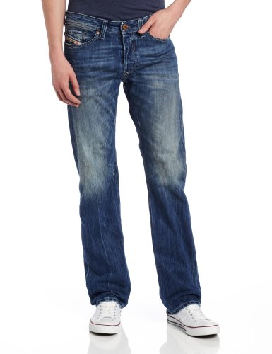 Diesel Men's Viker Regular Slim Straight-Leg Jean 0811I from Diesel