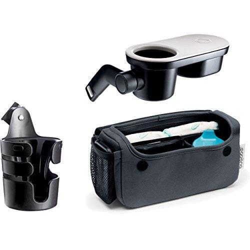 Bugaboo Stroller Accessory Bundle: Cup Holder + Organizer + Snack Tray - 1