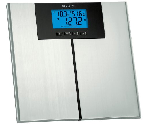 Homedics SC-540 LCD 400 lb/180 kg Capacity Bath Scale with Body Composition Scanner (Homedics Scale Body compare prices)