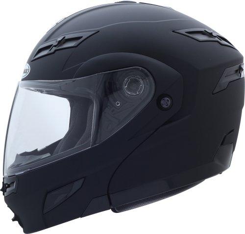 G-Max Gm54S Modular Street Helmet, Flat Black, Size: Xl, Primary Color: Black, Helmet Type: Modular Helmets, Helmet Category: Street, 1540077