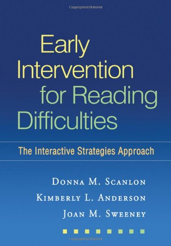 Early Intervention for Reading Difficulties: The...