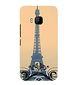 Abstract Painting 3D Hard Polycarbonate Designer Back Case Cover for HTC One M9 :: HTC M9 :: HTC One Hima