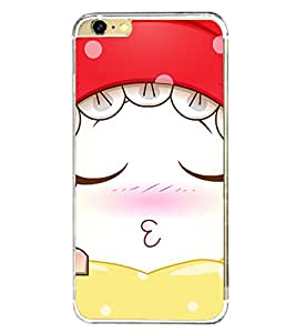 Cute Sleeping Girl 2D Hard Polycarbonate Designer Back Case Cover for Apple iPhone 6s Plus :: Apple iPhone 6s+
