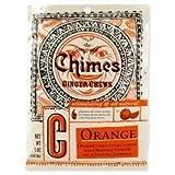 Orange Ginger Chews Bag 5oz candies by Chimes