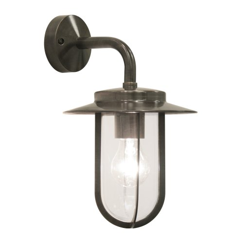 Astro 0561 E27 Montparnasse Wall Light excluding 1 x 60 Watt 230 V Bulb, Bronze